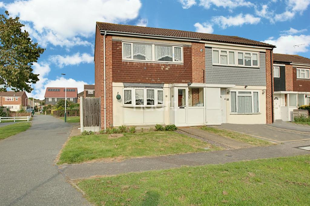 3 Bedrooms Semi Detached House for sale in Neave Crescent, Harold Hill