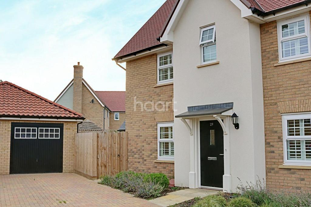 3 Bedrooms Detached House for sale in Christmas Tree Crescent, Hockley