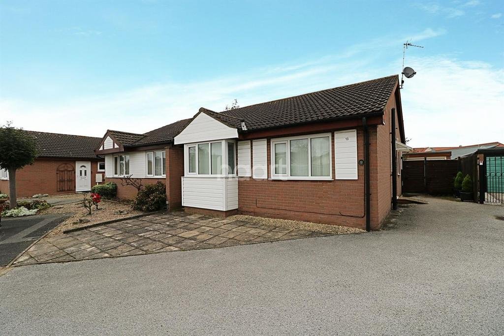 2 Bedrooms Bungalow for sale in Snetterton Close, Lincoln