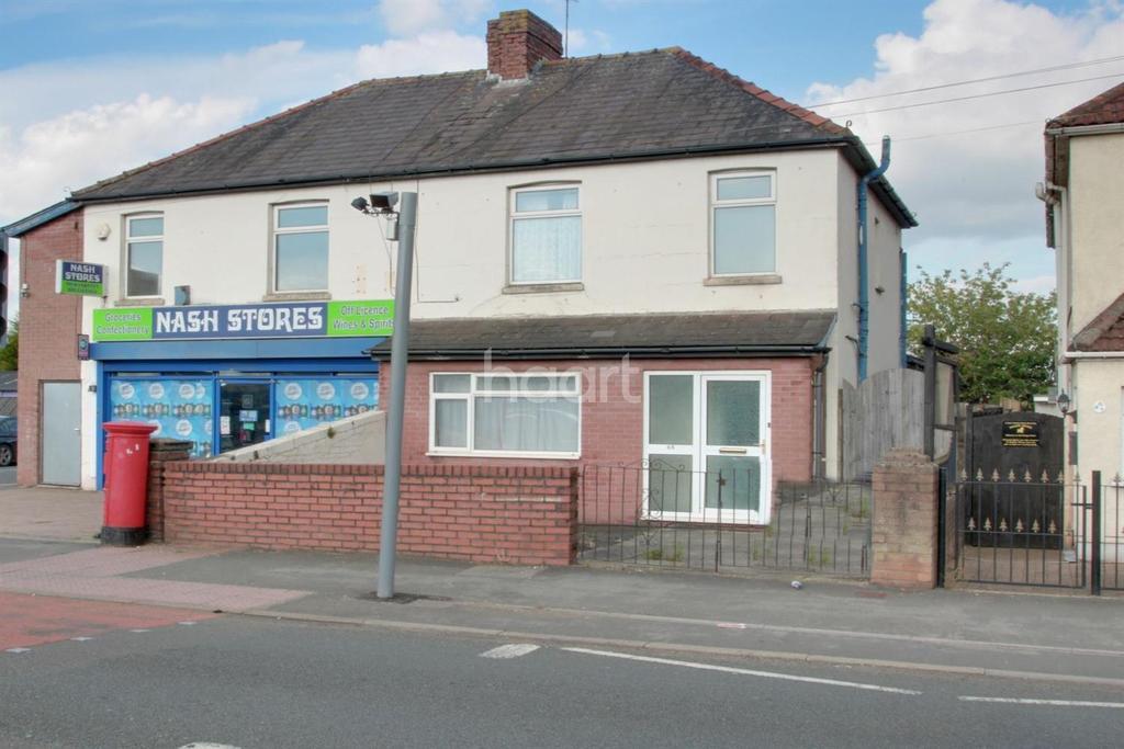 3 Bedrooms Semi Detached House for sale in Nash Road, Somerton , Newport