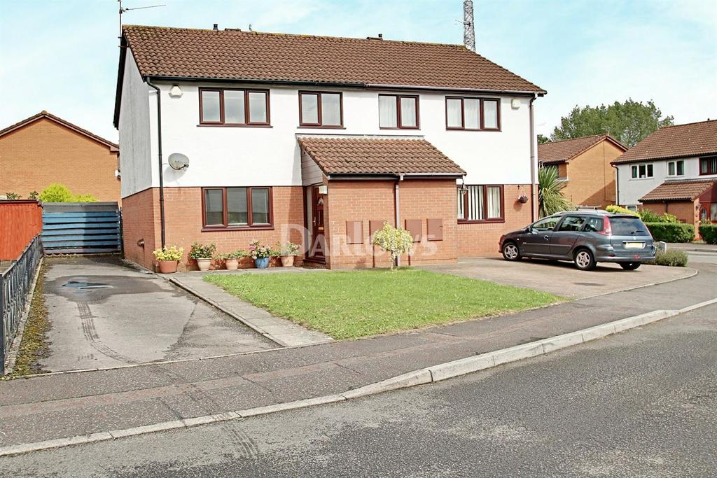 3 Bedrooms Semi Detached House for sale in Fennel Close, St Mellons, Cardiff
