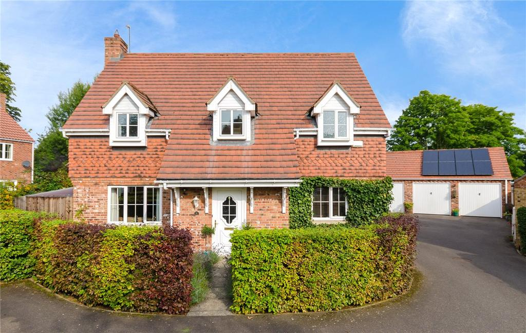 4 Bedrooms Detached House for sale in Chestnut Close, Digby, Lincoln, Lincolnshire, LN4