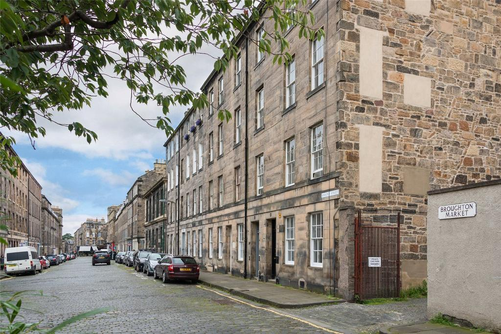 2 Bedrooms Apartment Flat for sale in Barony Street, Edinburgh, Midlothian