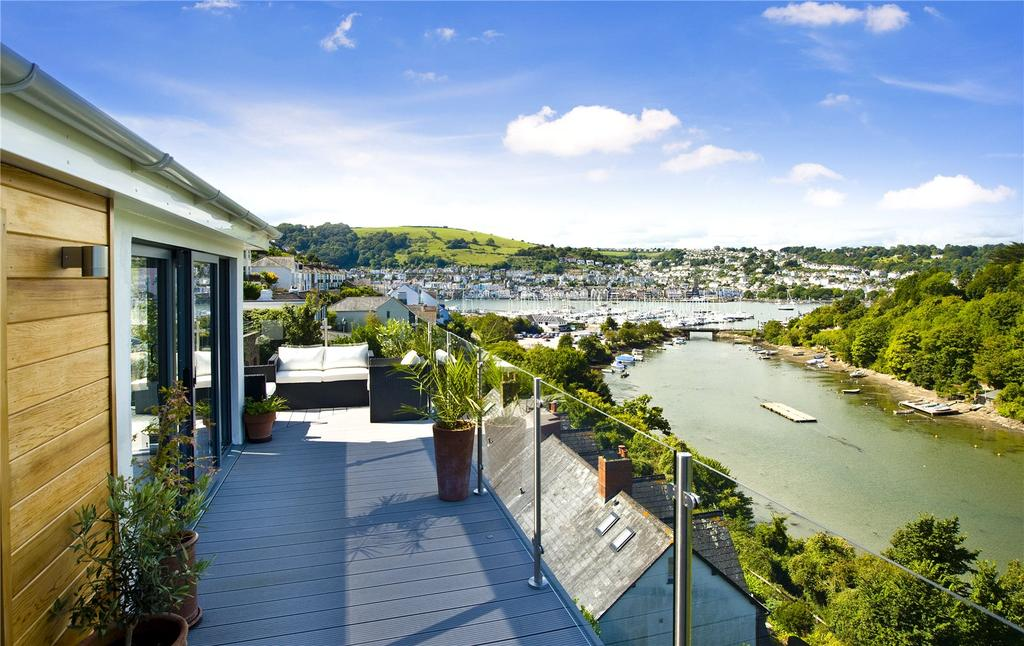 4 Bedrooms Detached House for sale in Lower Contour Road, Kingswear, Dartmouth, Devon, TQ6