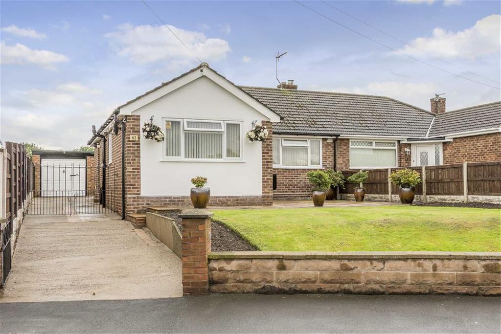 3 Bedrooms Semi Detached Bungalow for sale in Strickland Street, Shotton, Deeside, Flintshire