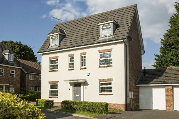 5 Bedrooms Detached House for sale in Allfrey Grove Spencers Wood Reading