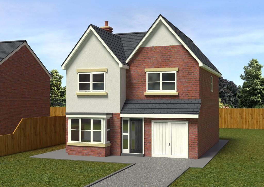 4 Bedrooms Detached House for sale in Gutterscroft, Haslington