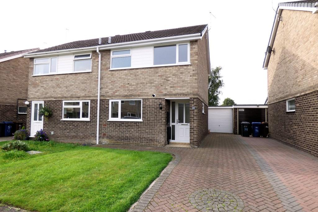 3 Bedrooms Semi Detached House for sale in Harwood Avenue, Branston