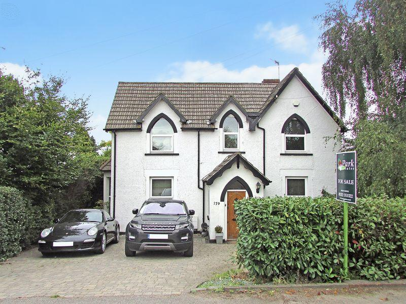 4 Bedrooms Detached House for sale in Hawley Road, Wilmington