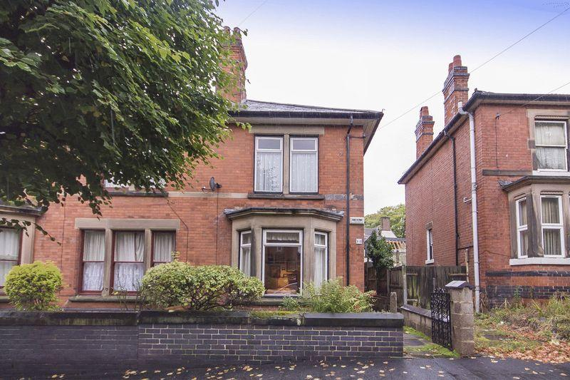 3 Bedrooms Semi Detached House for sale in VICARAGE AVENUE, DERBY
