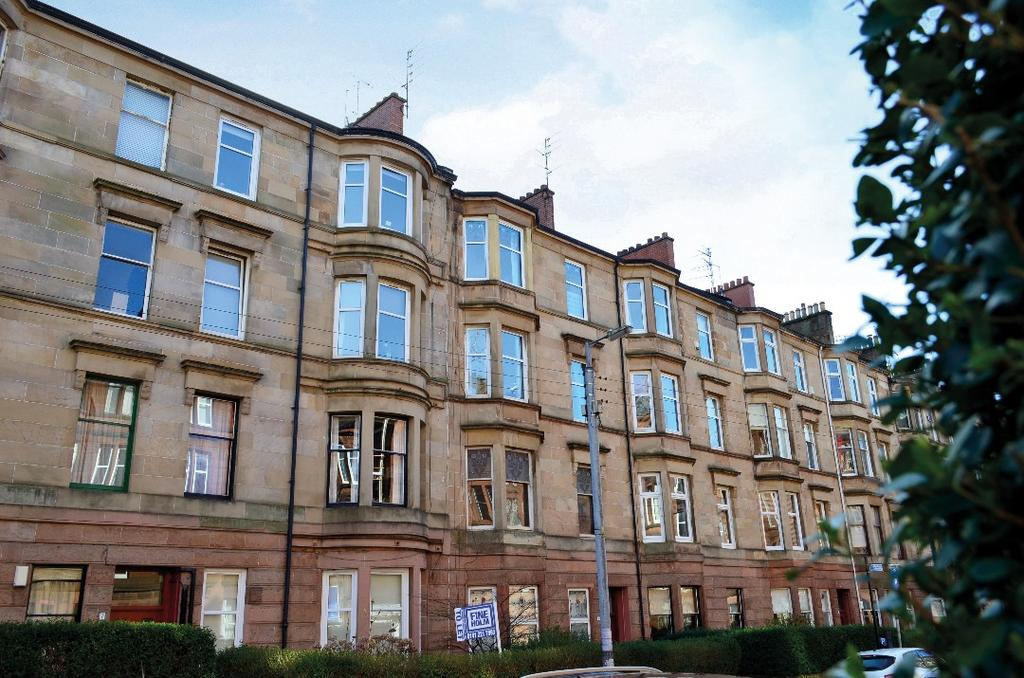 1 Bedroom Flat for sale in Havelock Street, Flat 0/2, Partickhill, Glasgow, G11 5JB