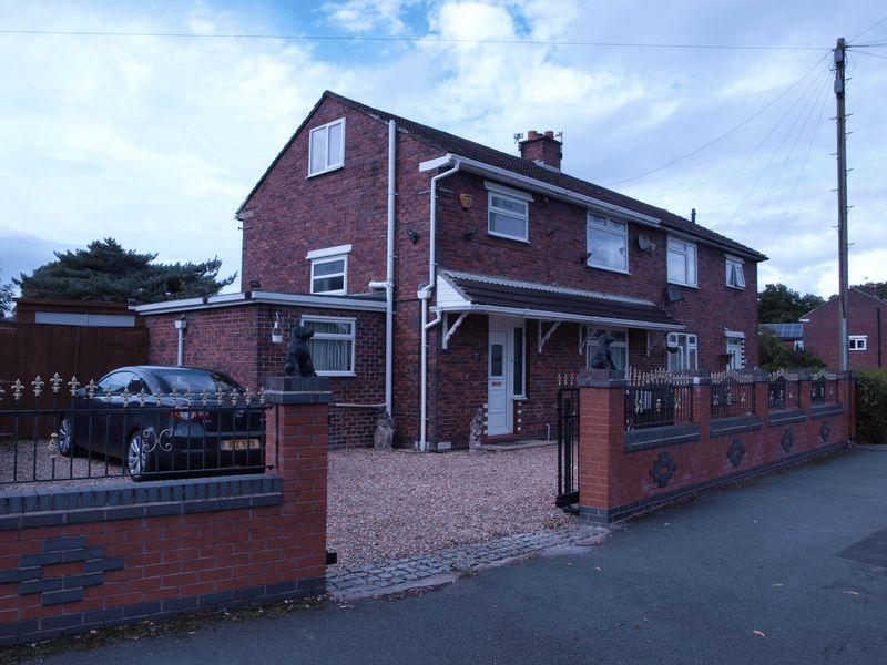 3 Bedrooms Semi Detached House for sale in Ash Road, Sandiway, Northwich, CW8 2NY