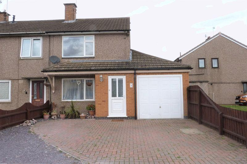 3 Bedrooms Semi Detached House for sale in Cranstone Crescent, Leicester