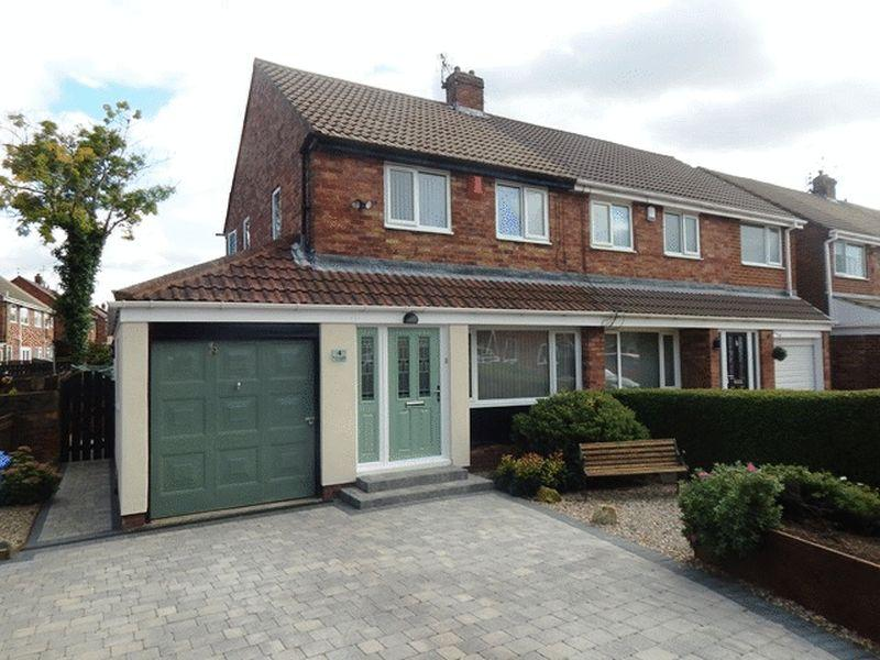 2 Bedrooms Semi Detached House for sale in Bishopdale Avenue, Blyth