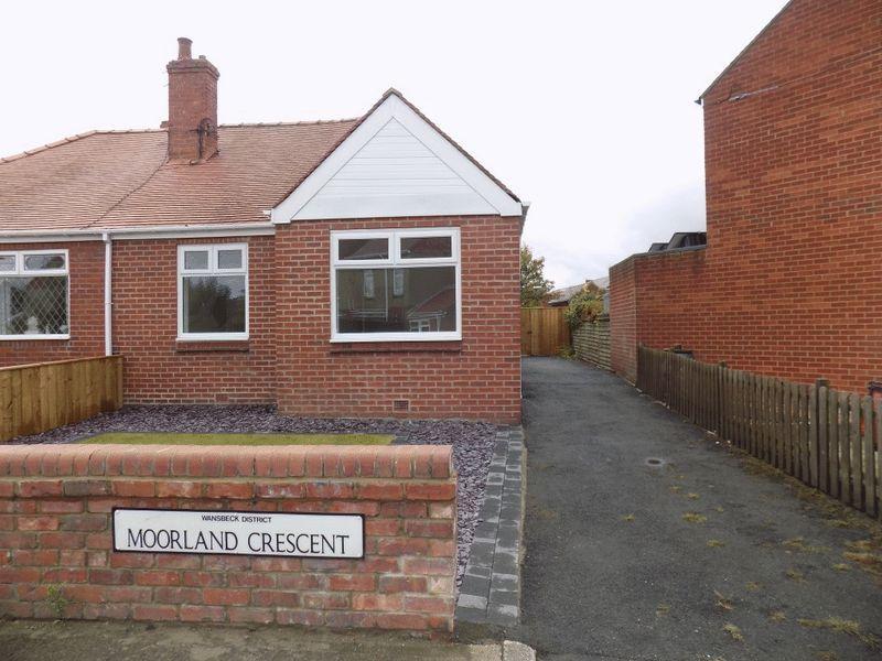 2 Bedrooms Bungalow for sale in Moorland Crescent, Bedlington
