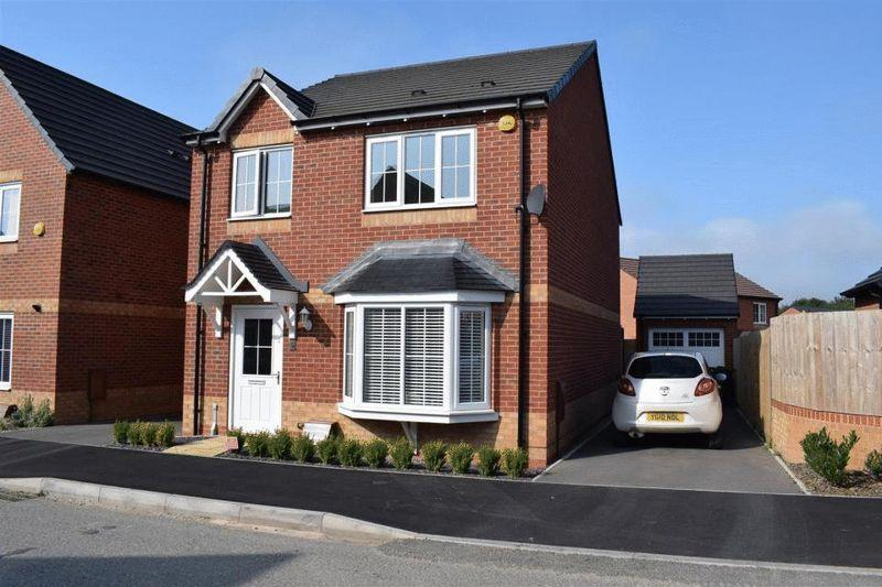 4 Bedrooms Detached House for sale in Oakway Drive, Swadlincote