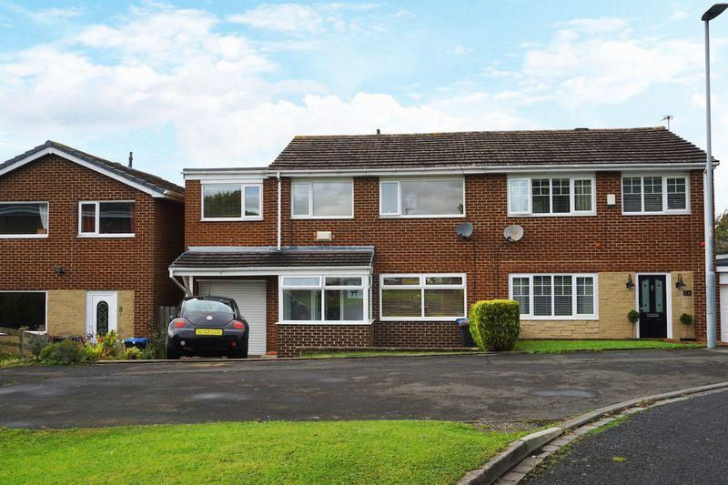 4 Bedrooms Semi Detached House for sale in Portland Close, Chester le Street