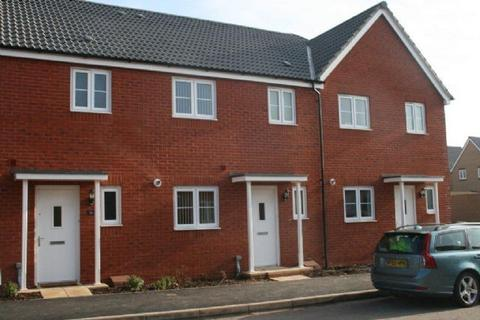 3 bedroom terraced house to rent - Topsham - Modern new 3 bedroom home with carpets and blinds situated in this sought after development.