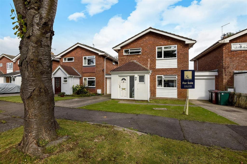 3 Bedrooms Link Detached House for sale in Haleybridge Walk, Tangmere