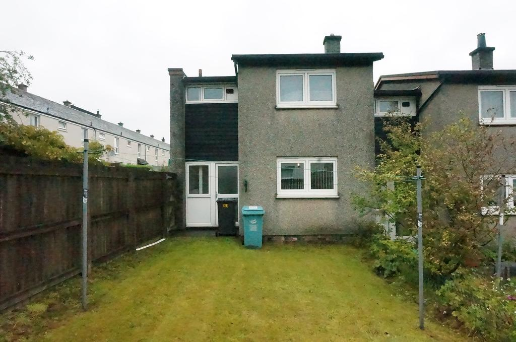 2 Bedrooms End Of Terrace House for sale in Kildrum, Cumbernauld G67