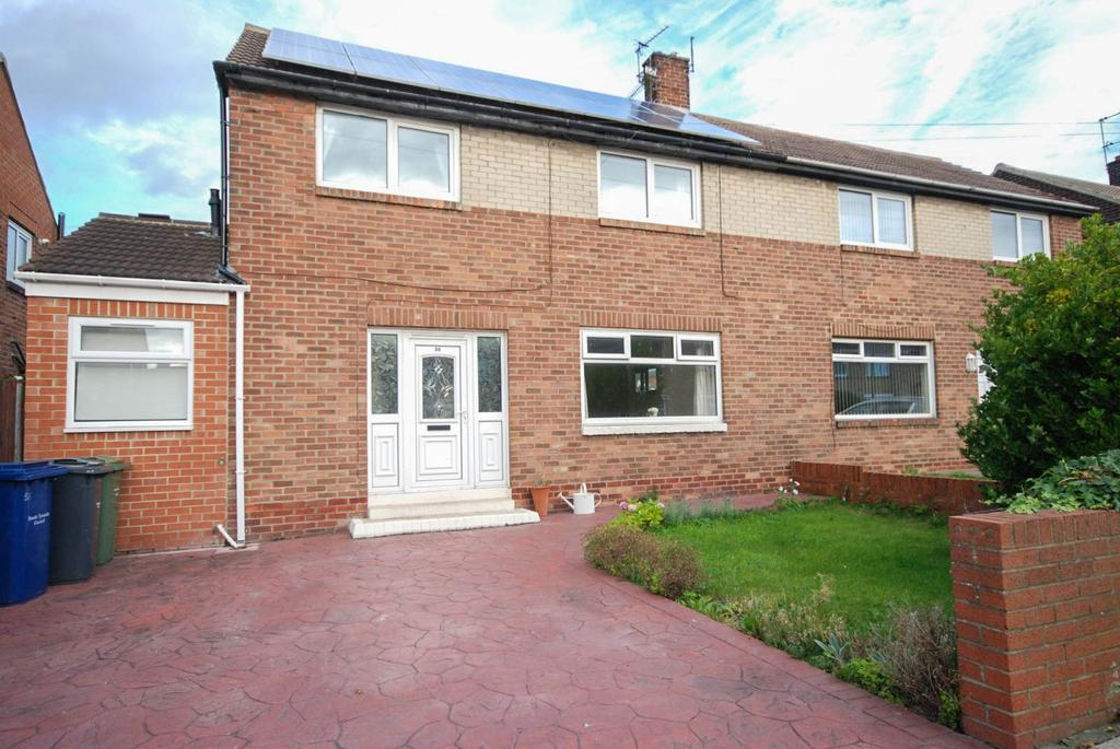 4 Bedrooms Semi Detached House for sale in Parry Drive, Whitburn