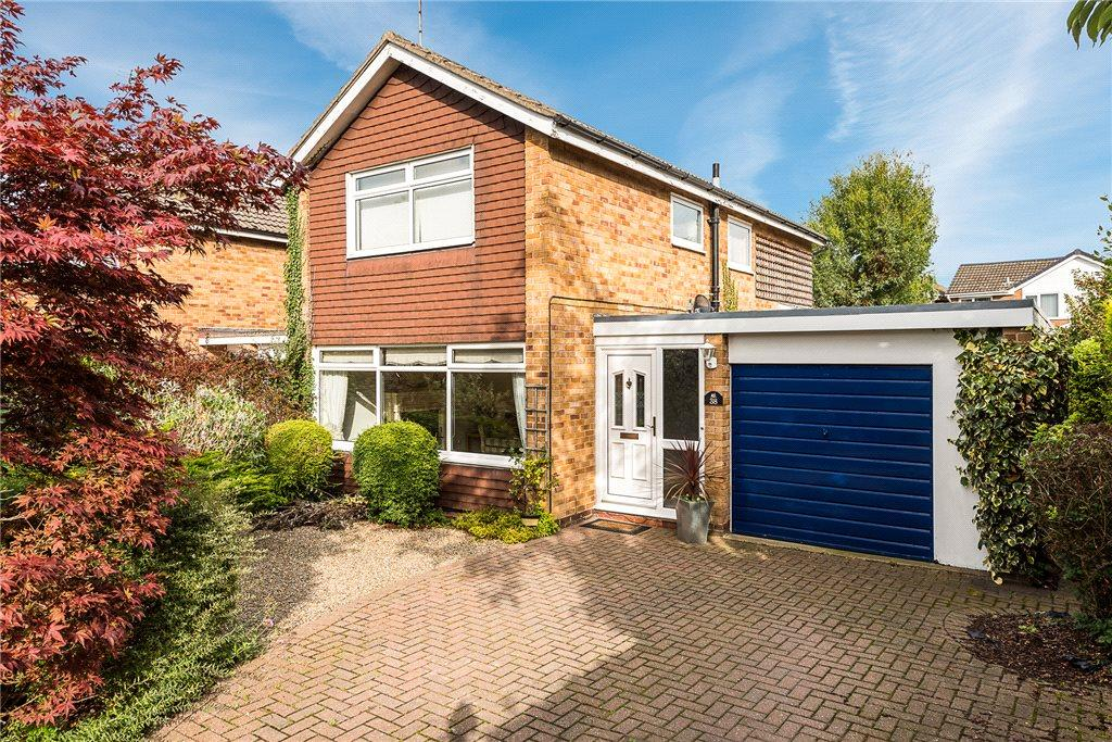 3 Bedrooms Link Detached House for sale in Aspin Drive, Knaresborough, North Yorkshire