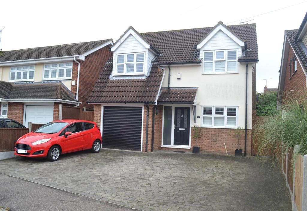 4 Bedrooms Detached House for sale in The Warren, Billericay, Essex, CM12