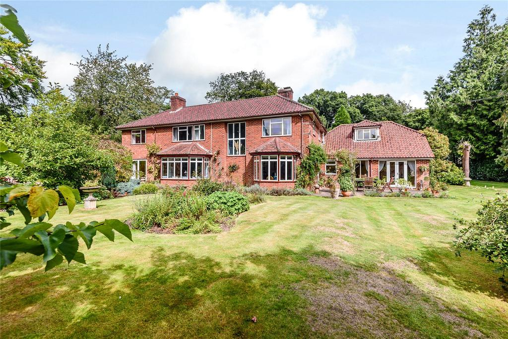 6 Bedrooms Detached House for sale in Southdown Road, Shawford, Winchester, Hampshire