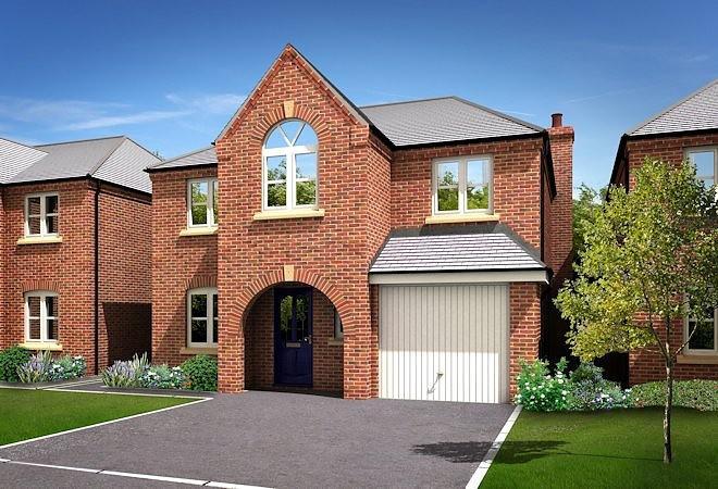 4 Bedrooms Detached House for sale in Chatsworth Grange, Hibbert Lane, Marple