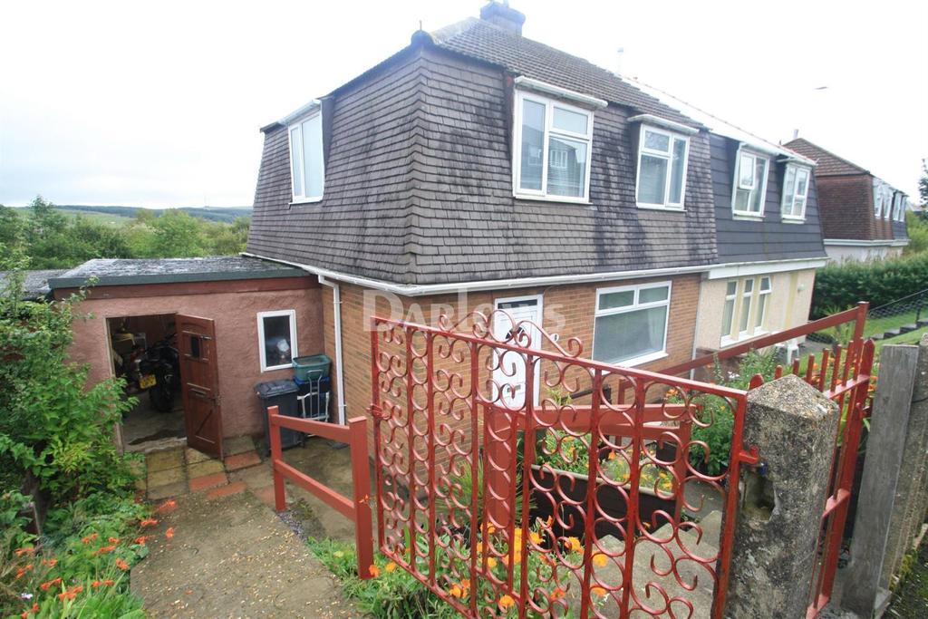 3 Bedrooms Semi Detached House for sale in Cripps Avenue, Cefn Golau, Tredegar, Blaenau Gwent