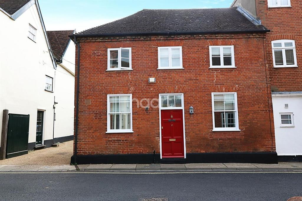 2 Bedrooms End Of Terrace House for sale in Cumberland Street, Woodbridge