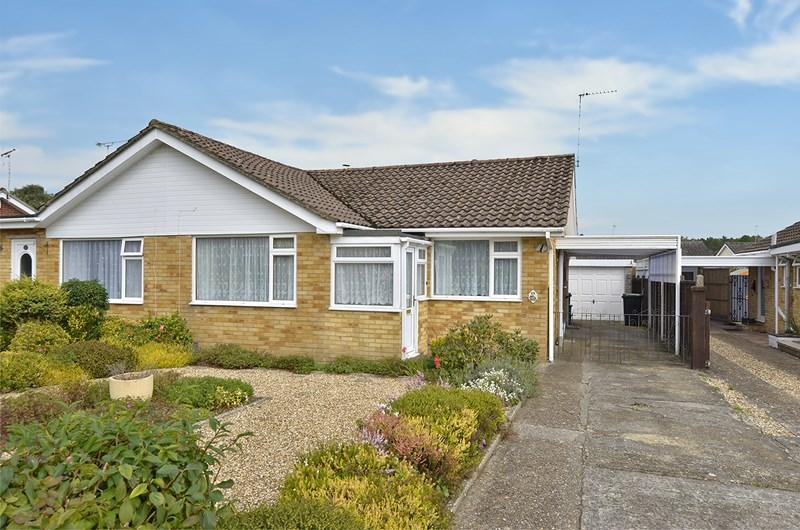 2 Bedrooms Semi Detached Bungalow for sale in Heatherdown Road, West Moors, Ferndown