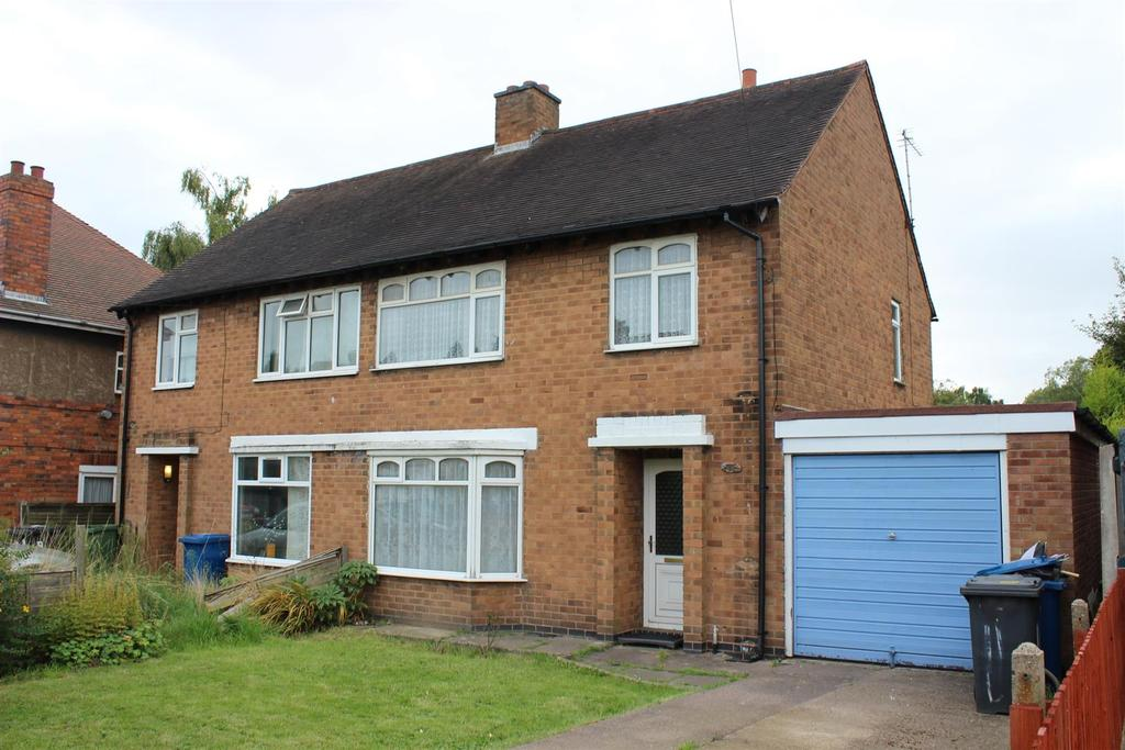 3 Bedrooms Semi Detached House for sale in Brook Avenue, Wilnecote, Tamworth