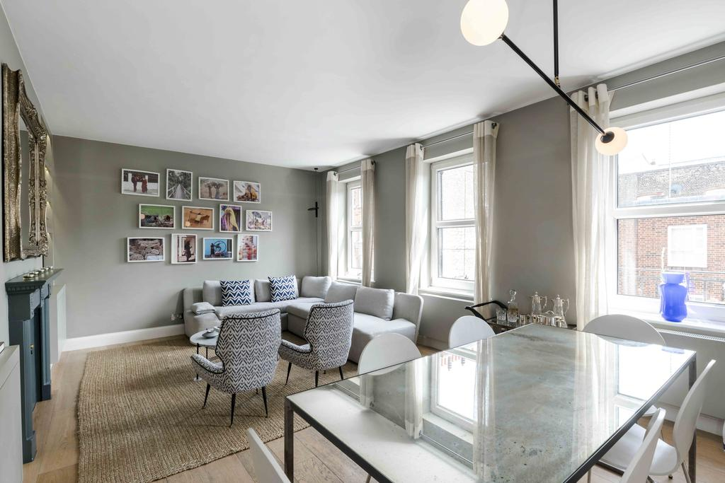 2 Bedrooms Flat for sale in Cheyne Place, London. SW3