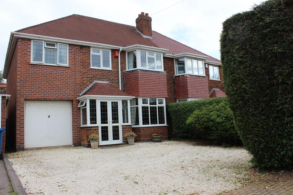 4 Bedrooms Semi Detached House for sale in Comberford Road, Tamworth
