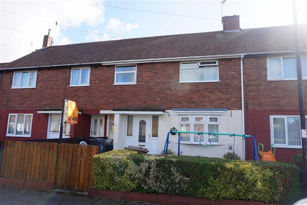 3 Bedrooms Terraced House for sale in Sandown Gardens, Howdon, Wallsend, NE28