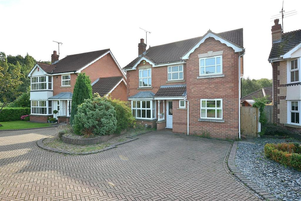 4 Bedrooms Detached House for sale in Johnson Drive, Mansfield