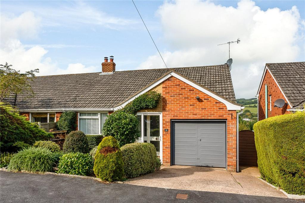 3 Bedrooms Semi Detached Bungalow for sale in Cherry Tree Close, Exeter, Devon, EX4