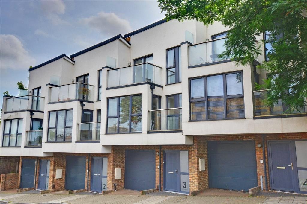 3 Bedrooms Terraced House for sale in Holly Bush Row, Dermody Road, Hither Green, London, SE13