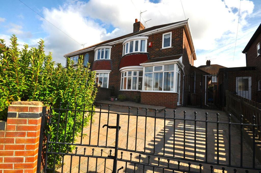 3 Bedrooms Semi Detached House for sale in Ferndene Crescent, Pallion, Sunderland