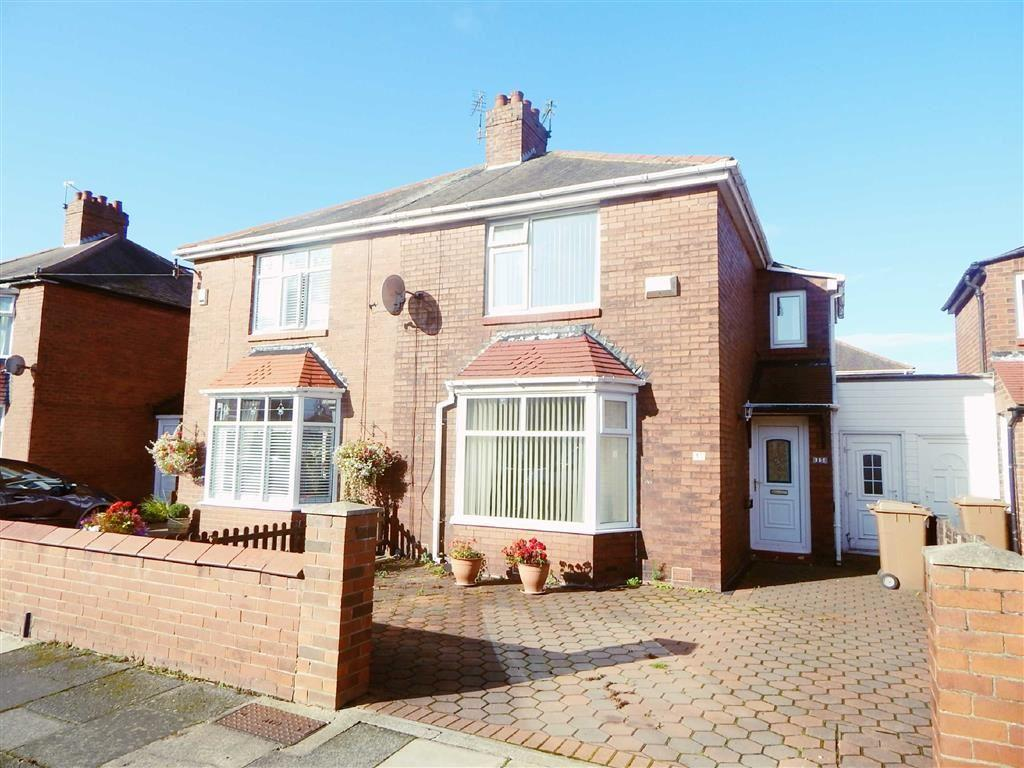 2 Bedrooms Semi Detached House for sale in Cresswell Road, Wallsend, Tyne And Wear, NE28