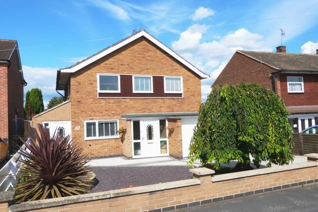 3 Bedrooms Detached House for sale in Allington Drive, Birstall, Leicester, LE4
