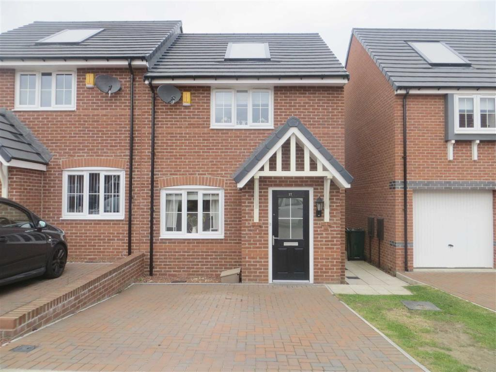 2 Bedrooms Semi Detached House for sale in Old School Drive, Newcastle Upon Tyne