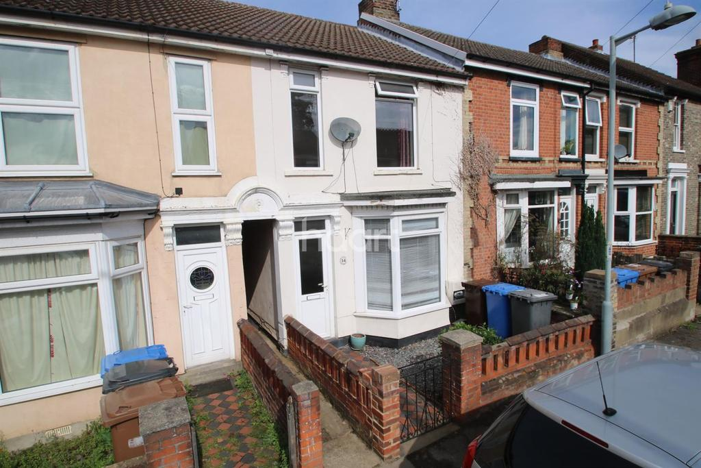 2 Bedrooms Terraced House for sale in Blenheim Road, Ipswich