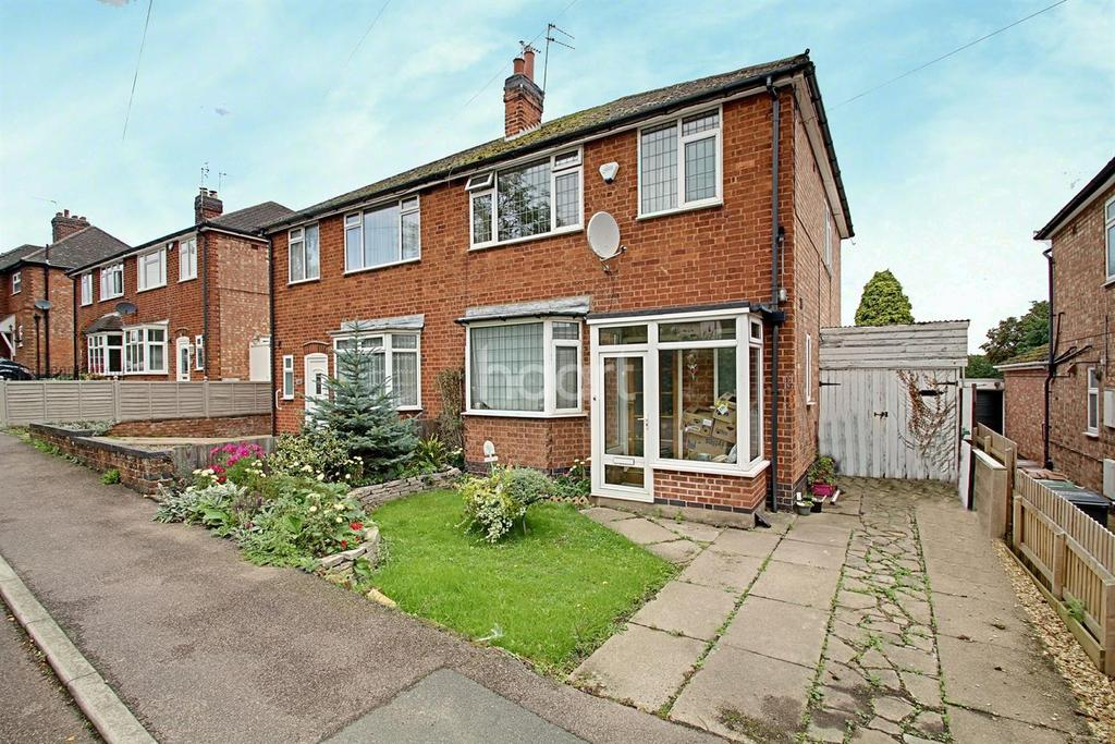 3 Bedrooms Semi Detached House for sale in Leicester Road, Thurcaston, Leicester