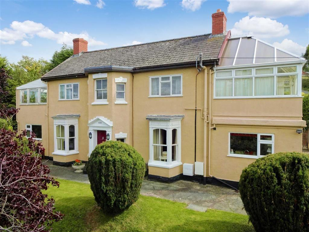 5 Bedrooms Detached House for sale in Cambrian House, Brimmon Lane, Brimmon Lane, Newtown, Powys, SY16