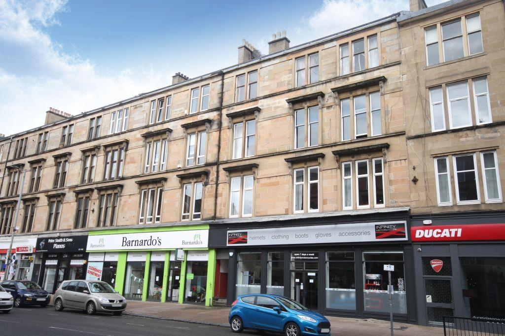 2 Bedrooms Flat for sale in Flat 3/2, 244 Great Western Road, St. Georges Cross, Glasgow, G4 9EJ