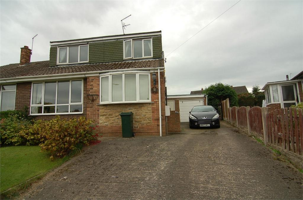 3 Bedrooms Semi Detached Bungalow for sale in Barlborough Road, Wombwell, BARNSLEY, South Yorkshire