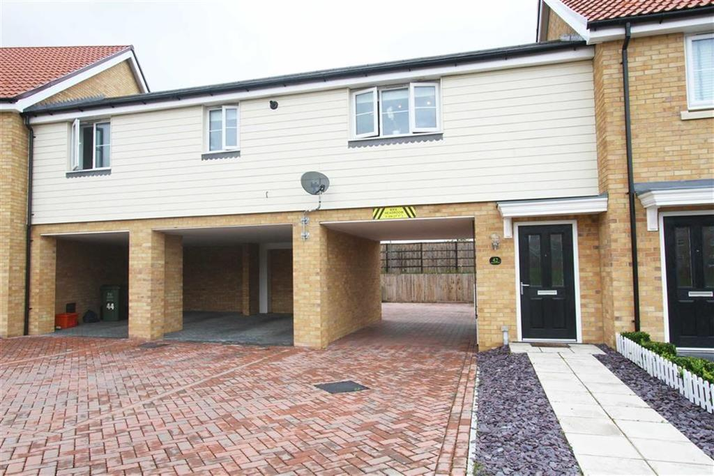 2 Bedrooms Maisonette Flat for sale in Warwick Crescent, Laindon