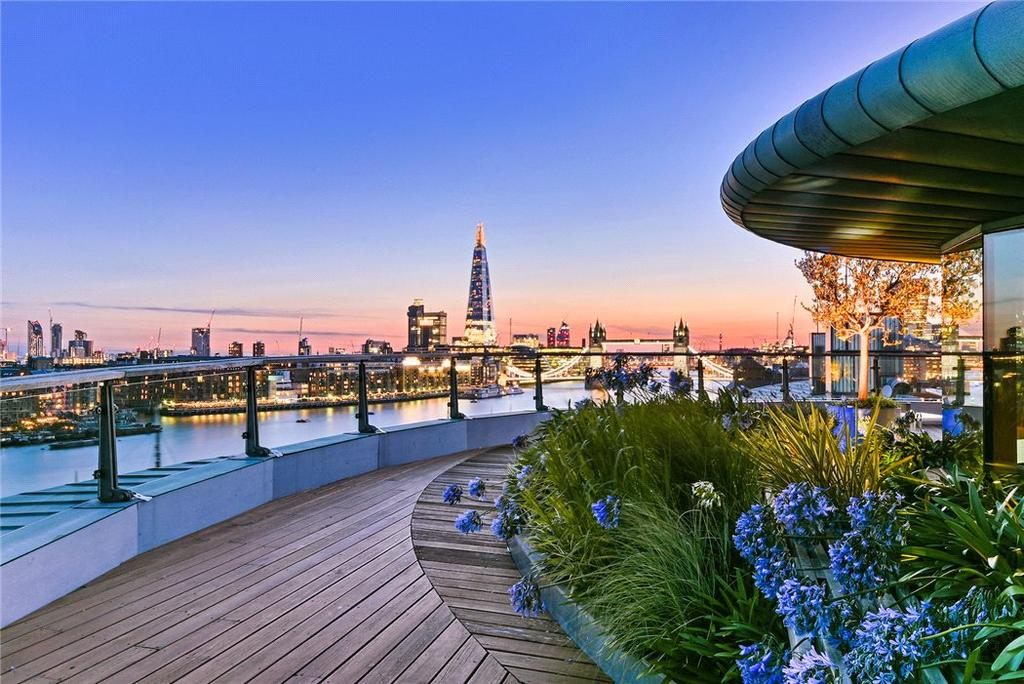 2 Bedrooms Penthouse Flat for sale in Cinnabar Wharf East, 28 Wapping High Street, Wapping, London, E1W